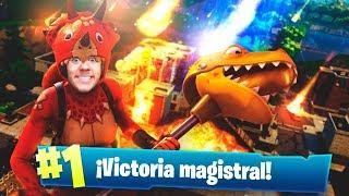 VICTORIA con LA NUEVA SKIN LEGENDARIA de FORTNITE! - TheGrefg