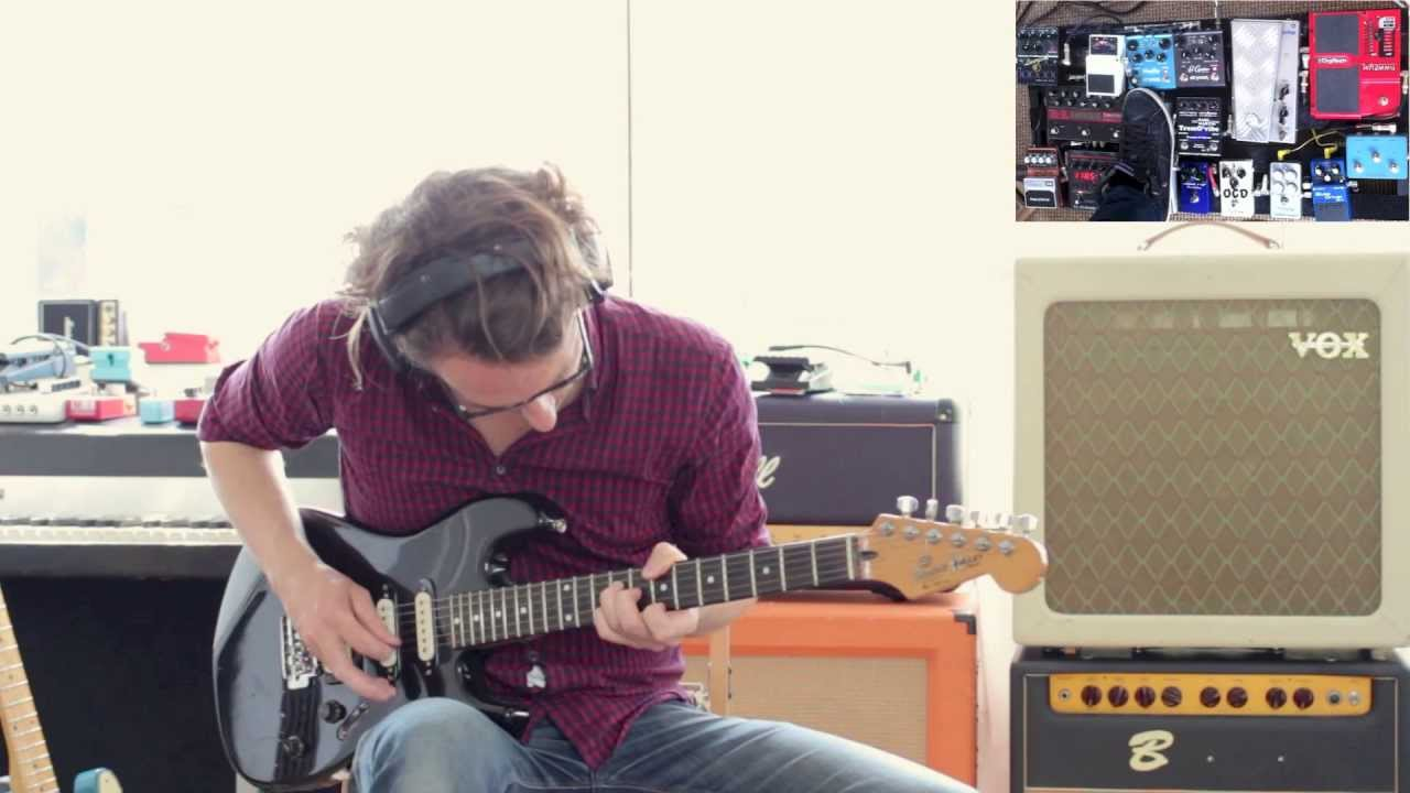 Evert Zeevalkink – Guitar Looping #16: Nashville tuned electric