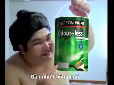 Quảng cáo sơn nippon paint
