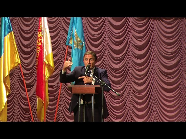 Виступ Голови Партії Пенсіонерів України на позачерговому 19 з'їзді партії