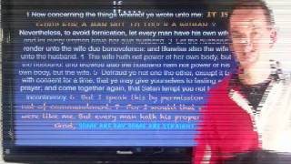 The Facts about being Gay and the BIBLE part 3.wmv