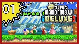 New Super Mario Bros. U Deluxe - Part 1 (4-Player)
