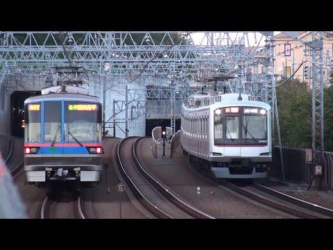 【東急】複々線 多彩な列車通過集 多摩川 Tokyo Tokyu Toyoko and Meguro Line Trains