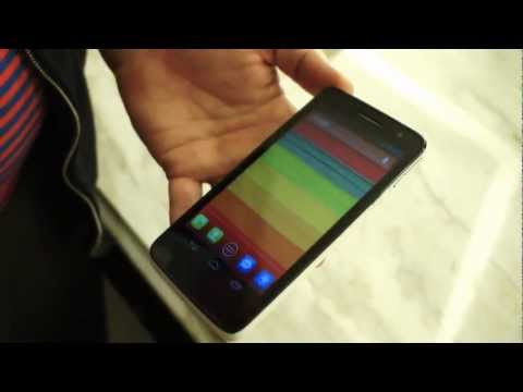 Alcatel One Touch Scribe HD [Hands-on][CES 2013][HD]