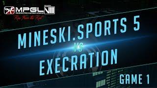 Mineski.Sports5 vs Execration - Mineski Pro Gaming League S8 Dota 2 - Game 1 [Quarterfinals]