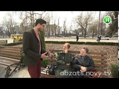 Как маленький военный кораблик большой украинский город прославил - Абзац - 27.03.2014 (видео)