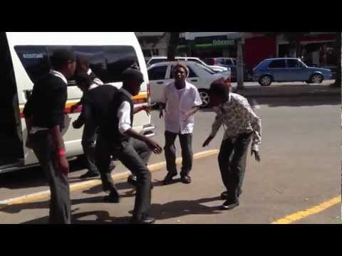 Kwaito street dancing – South Africa