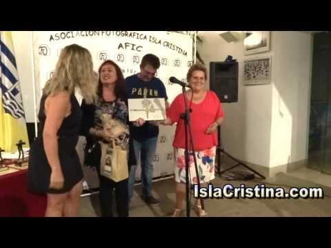 Premios del V Concurso Fotografico AFIC celebrado en Isla Cristina