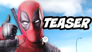 Deadpool Red Band Trailer Teaser Breakdown
