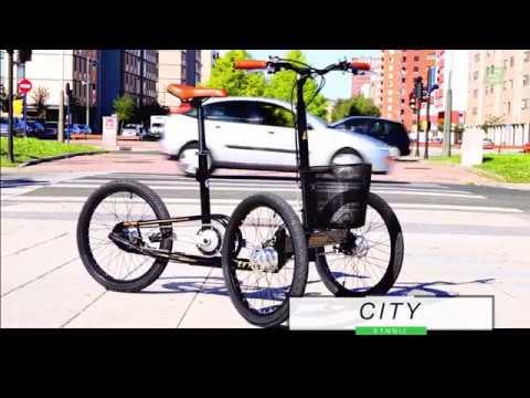 Triciclo eléctrico Etnnic City Trike