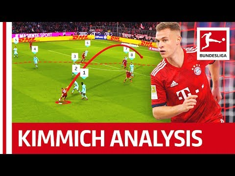Joshua Kimmich Analysis - How Does He Get So Many Assists?