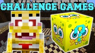 Video Minecraft: SPONGEBOB CHALLENGE GAMES - Lucky Block Mod - Modded Mini-Game MP3, 3GP, MP4, WEBM, AVI, FLV Juni 2019