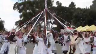 This is the final Mayplole dance performed by school students on 25 May 2013 at Kadina in the 'Copper Triangle', Yorke Peninsular, South Australia.