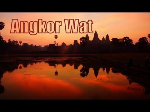 Exploring Angkor Wat, Siem Reap, Cambodia