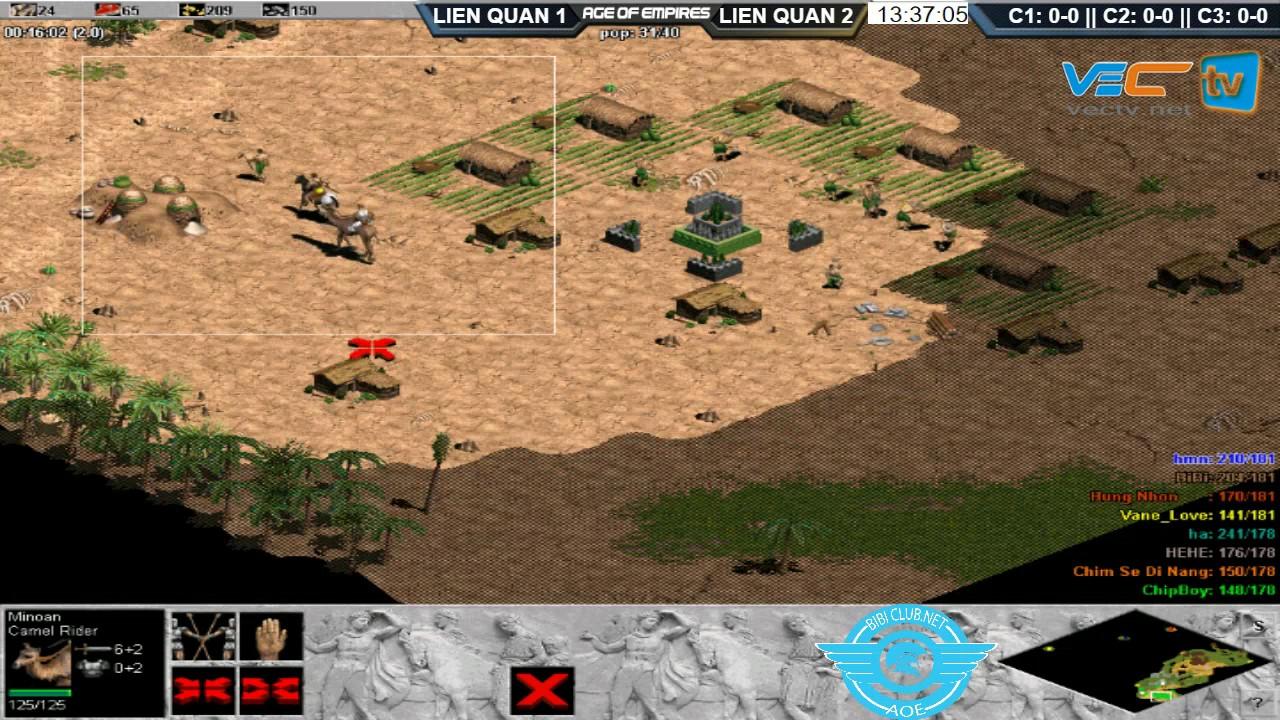 4 vs 4 Đỉnh Cao| Liên Quân HN + BBC vs Liên Quân POW + GTV