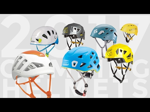 2017 Climbing Helmets