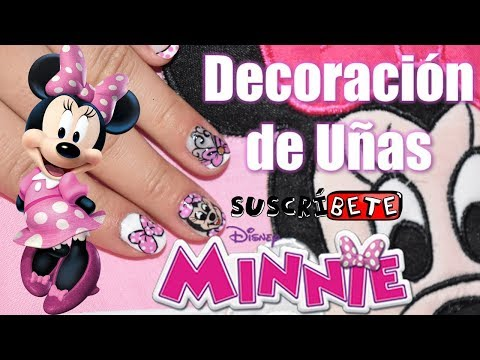 Decoracion de uñas - Decoración de Uñas minnie mouse -Karol-LikeArt20
