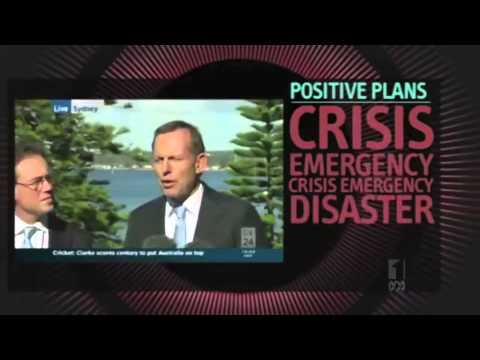 Tony Abbott - Beacon of Positivity - Hamster Wheel