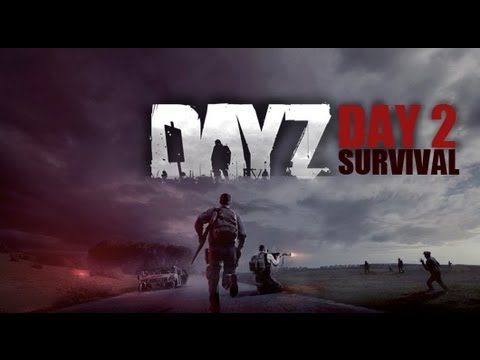 day2 - And so my journey continues... I got back into DayZ to try and find my friends when I saw a guy running scared. Needless to say, I couldn't help myself and h...