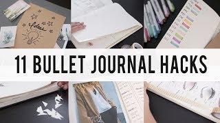 Video 11 BULLET JOURNAL HACKS / DIY / Tips / IDEAS  | ANN LE MP3, 3GP, MP4, WEBM, AVI, FLV Juli 2018