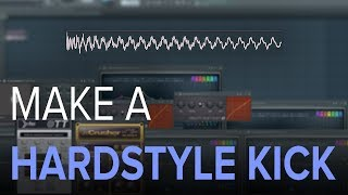 Download Lagu How To Make YOUR OWN HARDSTYLE KICK | 5min CHALLENGE ⏱️ Mp3