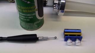10. (1)- HOW TO: =Lubricate a THROTTLE CABLE