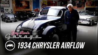 Early Car Aerodynamics: 1934 Chrysler Airflow - Jay Leno's Garage by Jay Leno's Garage