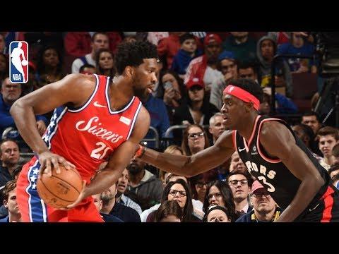 Video: Full Game Recap: Raptors vs 76ers   Joel Embiid Records Monster Double-Double