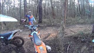 4. Husqvarna FE 250 first ride with dirtriderZ at Enfield