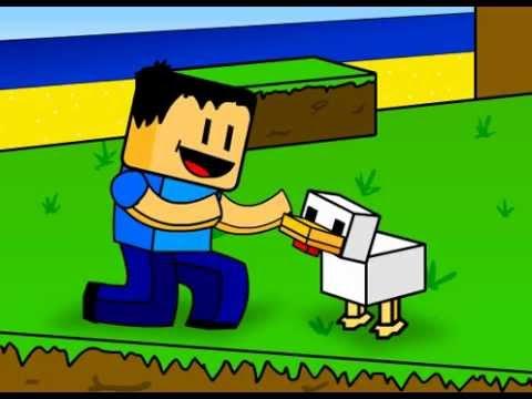 Parodia animada del Minecraft (parody)