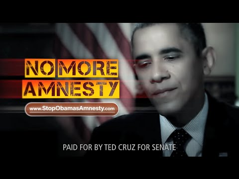 Video: Ted Cruz Sparks Effort to Stop Obama's Amnesty