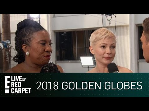 """Michelle Williams Talks """"#MeToo"""" at 2018 Golden Globes 