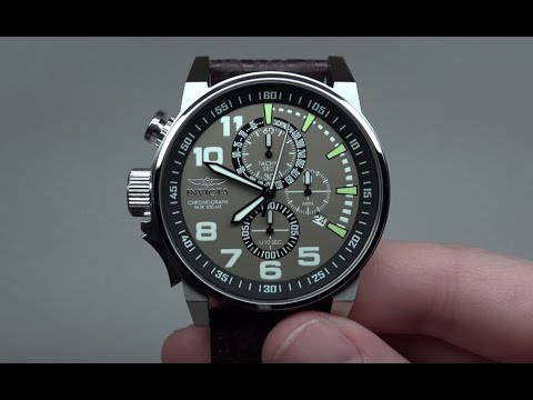 INVICTA FORCE CHRONOGRAPH MEN'S WATCH REVIEW MODEL: 13054 видео