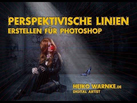 Perspektivische Linien für Photoshop erstellen