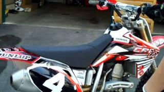 6. 2007 Honda CRF150r Revs