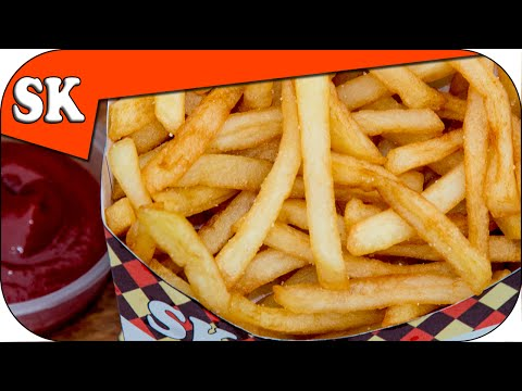 How to Make McDONALDS STYLE FRENCH FRIES