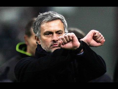 "mourinho e le ""manette"""