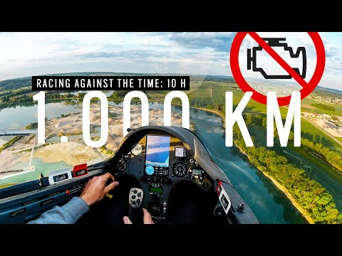 10 Hours Endurance Racing | My First 1000 KM FAI Triangle Glider Flight