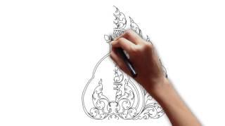 Video Draw Khmer Ornament - Kbarch Angkor MP3, 3GP, MP4, WEBM, AVI, FLV Agustus 2018