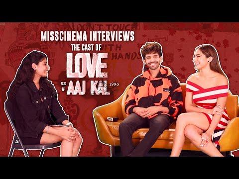 MissCinema   Interview with Kartik Aaryan and Sara Ali Khan   Love Aaj Kal