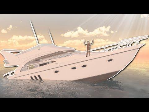 Garrys Mod - SINKING SHIP SURVIVAL in GMOD? - Garry's Mod Gameplay - Sinking Ship Survival