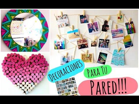 Ideas para decorar mi cuarto juvenil con manualidades for Como decorar mi cuarto con reciclaje