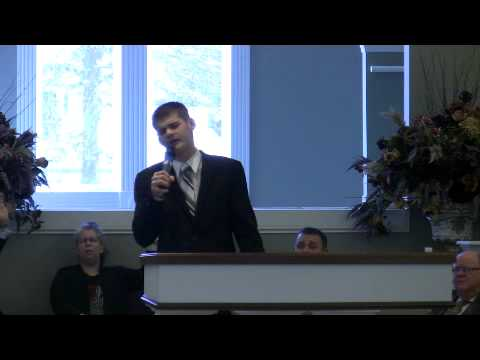 Cornerstone Apostolic 2012-02-12 Sunday AM Tyler Singing Above All