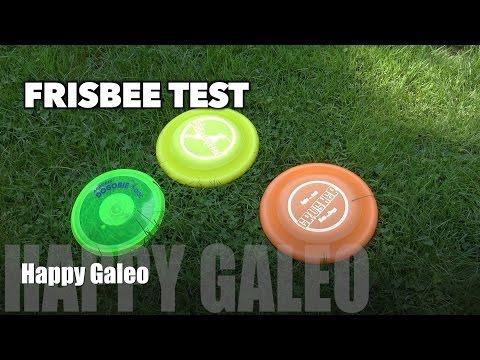 Frisbee Testvergleich - Dogstar Standard Dogstar Crusher Aerobie Dogobie Trixie Dog-o-soar