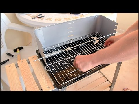 Lidl Florabest Trolley Barbecue BBQ Grill DIY
