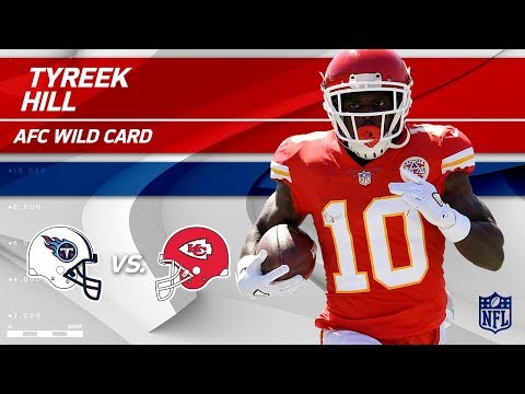 Video: Tyreek Hill's 101 Total Yards vs. Tennessee! | Titans vs. Chiefs | Wild Card Player HLs