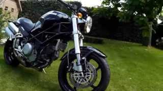 7. Ducati Monster S2R Start up and quick tour