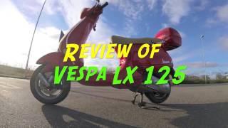 10. Episode #3 - Review of Vespa LX 125
