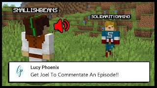 I GOT SMALLISHBEANS TO COMMENTATE MY VIDEO.. | Minecraft Top Comment #4