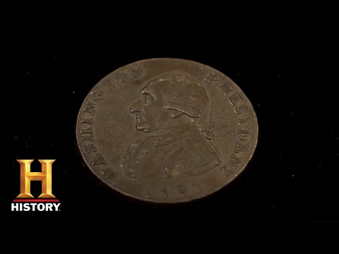 Pawn Stars: 1791 American Coin Has a Remarkable History (Season 10)   History